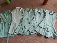 Green dresses 5/6 yrs