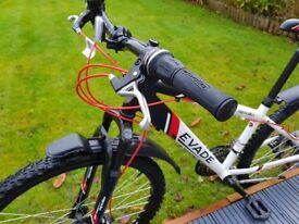 Apollo Evade 14 inch 21-speed mountain bike, disc brakes, mudguards, stand: mint condition :-)