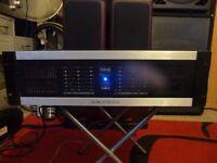Stageline STA-150 6 channel pro power amplifier 960W Super Duty