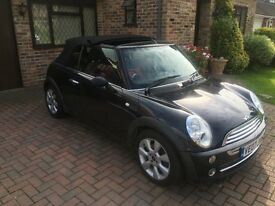 Mini one convertible 1.6 petrol 110,000 full service history