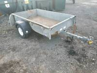 Ifor williams p6e trailer with flotation tyres