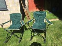 Two brand folding rocking chairs make us a offer