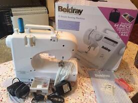 As new Bildary 12 Automatic Stitch patterns boxed with built in tread cutter light bulb fast NO OFR