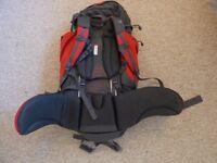 Karrimor Orkney 65L Rucksack- Red