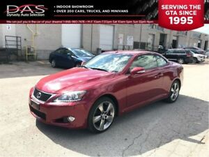 2012 Lexus IS250C PREMIUM/HARD-TOP/NAVIGATION