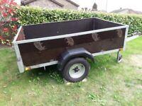 ARMITAGES 6FT X 4FT CAMPING/GENERAL PURPOSE TRAILER - GREAT CONDITION