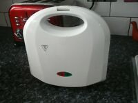 white toasted sandwich maker. dual. great working order