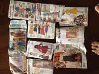 Sewing Patterns/ packages