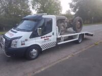 Woods recovery and car collection services . Cars bought for cash