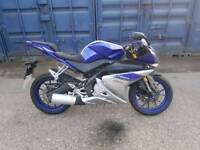 Yamaha yzf r125 abs 2016 500 miles from new!!!