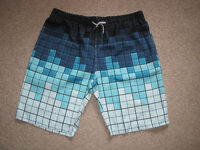 NEW!!! Two pair of mens lightweight cotton leisure shorts with drawstring size XL-XXL.
