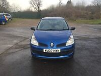 RENAULT CLIO EXPRESSION DCI TURBO DIESEL 1.5cc 86bhp 3 door h/back 07/2007 1 former keeper 113k full