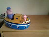 More Peppa pig toys