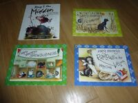Kids Hairy Maclary's books x 3 and a Manky Mingin Rhymes In Scots Book