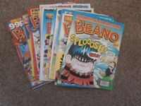 Beano comics issues ranging between 3216 and 3535, (37 in total) *Free P&P