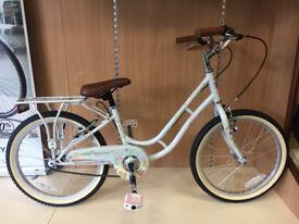 "Viking Crystal 20"" Junior Girls Bike (Ex-Display Bike)"