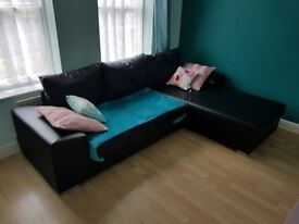 Black Sofa 3 seats