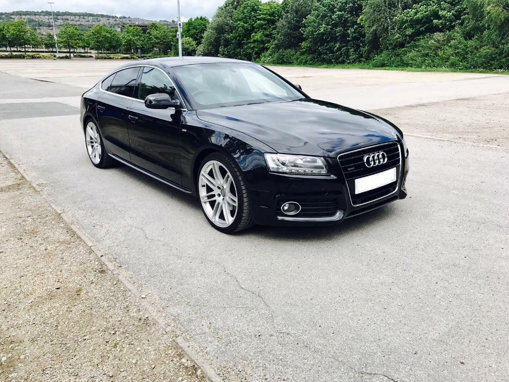 audi a5 3 0 tdi quattro s line 240 bhp sportback 5 dr full upto date audi history in sheffield. Black Bedroom Furniture Sets. Home Design Ideas