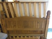 Free Pine double bed