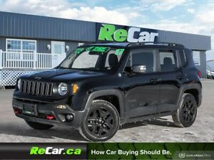 2017 Jeep Renegade Trailhawk 4X4   HEATED LEATHER   NAV   BAC...