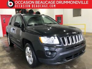 2011 Jeep Compass NORTH 4X4 - MANUELLE 5 VITESSES - BAS MILLAGE!