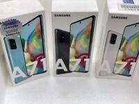 Samsung galaxy A71 unlocked new box Warranty