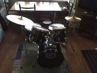 Session Pro Fusion Drum Kit - Great Starter Drum Kit!
