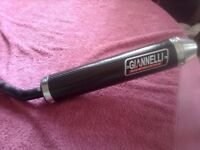 Aprilla rs125 gianelli silencer brand new
