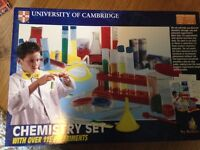 children chemistry set university of cambridge in good condition as new