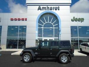 2011 Jeep Wrangler Unlimited SPORT 4x4 Manual with TWO tops! TWO