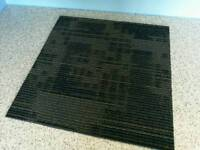 USED HAND SORTED 50x50 SQUARE CARPET TILES IN HAMMERSMITH