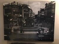 Large London city canvas