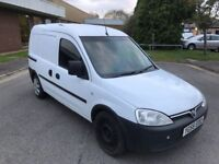 2006 Vauxhall combo 1.7 cdti twin slide load door 12 months mot/3 months parts and labour warranty