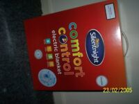 silentnight double electric blanket, new, boxed, unopened, unwanted gift, normal price over £25