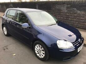 2007 VW Golf Match 1.6 FSI 5DR Hatchback Volkswagen 1 OWNER FULL DEALER HISTORY