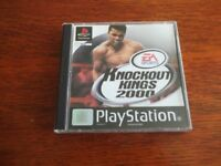 PLAYSTATION 1 KNOCKOUT KINGS 2000 EXCELLENT CONDITION