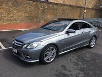 Mercedes E350 CDi Sports Coupe Bluef 231BHP, Not A/B/C/S class