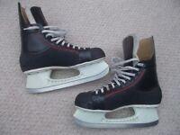 ice skates mens hockey size 12