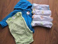 Zara bodysuits and Hello Kitty Hoodie 12-18m