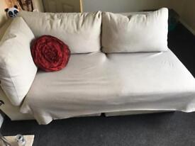 Sofa & Pouffe