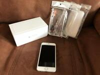 iPhone 6 128gb unlocked any network boxed with spare cases