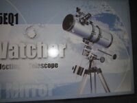 SKY-WATCHER REFLECTING TELESCOPE SKP 1145EQ1. ASPHERICAL MIRROR.