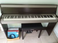 Yamaha YDP-S30 digital piano with piano stool