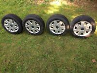 Ford KA steel wheels