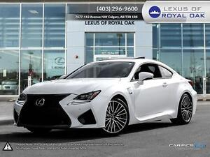2015 Lexus RC F Coupe 8A   - Certified - $455.08 B/W - Low Milea