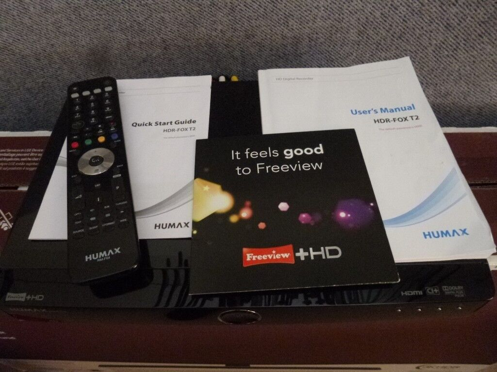 HUMAX HD Digital Recorder HDR-FOX T2