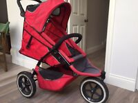Phil and Teds Explorer double buggy good condition