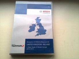 TELEATLAS DX 2013 UK & ROI VOLKSWAGEN NAVIGATION DISC CD AUDI SATNAV