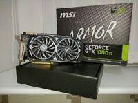 MSI Nvidia GTX 1080 Ti Armor Edition Graphics card