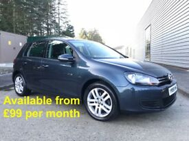 Volkswagen Golf (Jetta A3 Passat A4 320d C4 Focus Astra) £99 per month